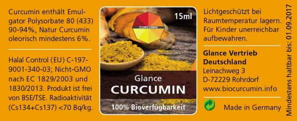 Flüssiges Curcumin - 100% Bioverfügbarkeit